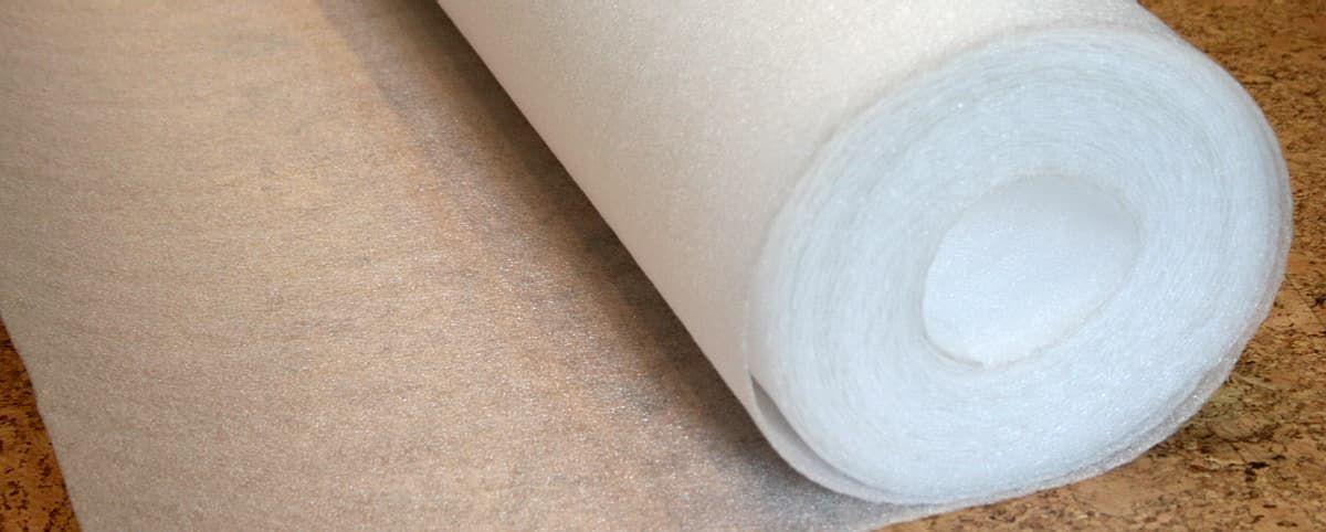 Рулонная подложка под ламинат