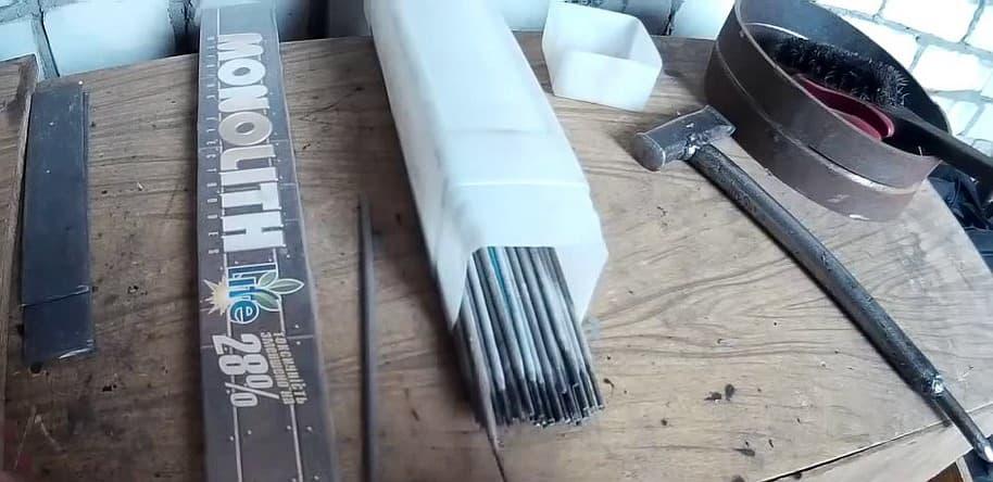 Универсальные электроды сварочные Монолит РЦ (Е46) 3 мм и 4 мм